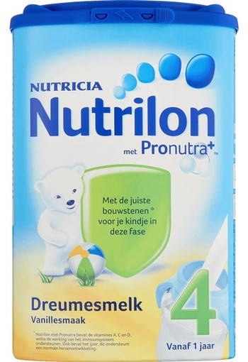 Nutrilon Vanillesmaak Dreumesmelk 4 800 gr.