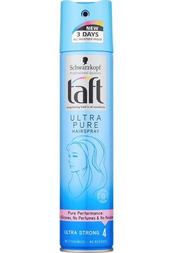 Taft Spray Ultra Pure 250ml