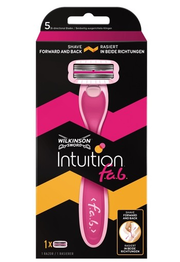 Wilkinson Intuition Fab Scheersysteem 5-Blads Bidirectioneel