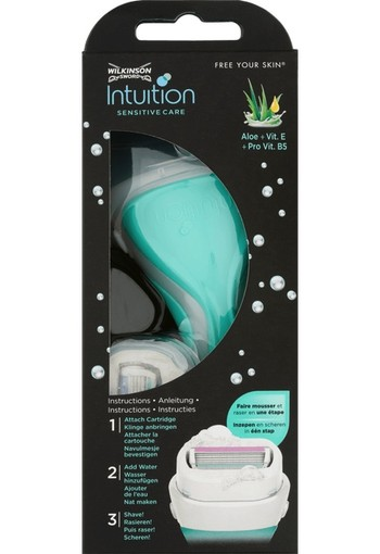 Wilkinson Intuition Sensitive Care Scheersysteem 4-Blads