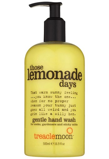 Treacle Moon Those Lemonade Days Gentle Hand Wash 500 ml
