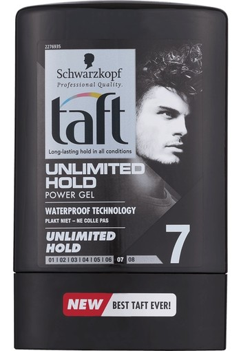 Schwarzkopf Taft Unlimited Hold Power Gel 300ml