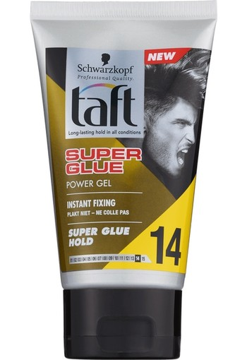 Schwarzkopf Taft Super Glue Power Gel Tube 150 ml