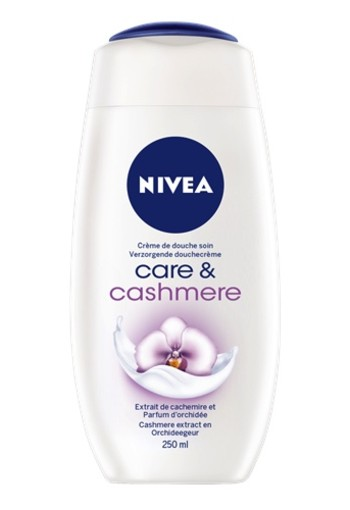 NIVEA SHOWERCREME CARE EN CASHMERE 250 ML