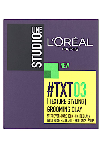 L'Oréal Paris Studio Line #TXT03 Grooming Clay 75 ml