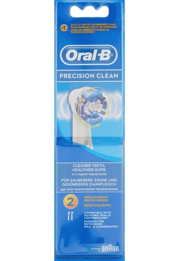 Oral-B Precision Clean Opzetborstels 2 st.