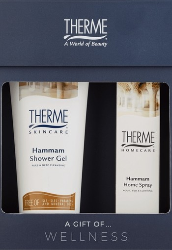 Therme Hammam Showergel & Home Fragrance Geschenkset