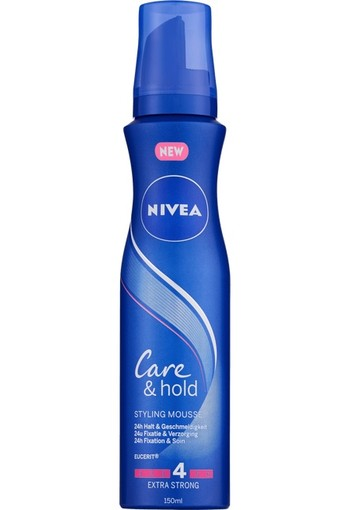 NIVEA Care & Hold Styling Mousse 150 ML
