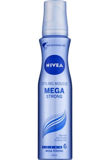 NIVEA Styling Mousse Mega Strong 150 ML