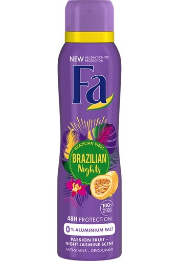 Fa Deospray Brazilian Night 150ml