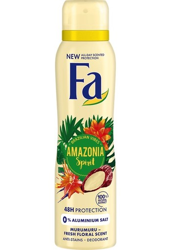 Fa Deospray Amazonia Spirit 150 ml