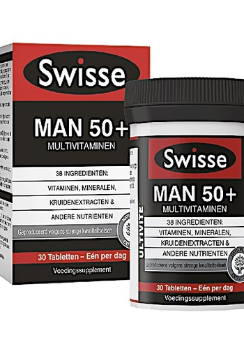 SWISSE ULTIVITE MAN 50+ MULTIVITAMINEN 30 TABL.