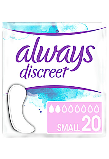 Always Discreet Incontinentieverband Small 20 stuks