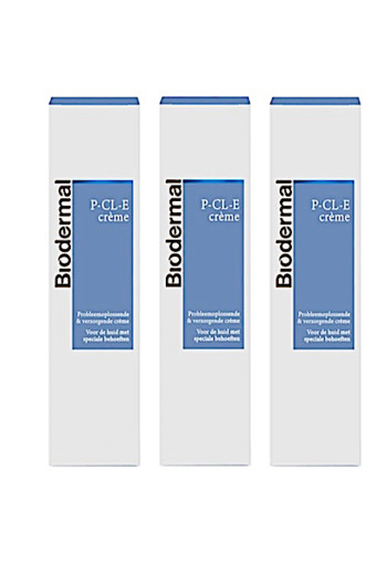 Biodermal P CL E Creme Trio (3x100ml)