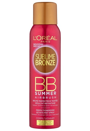 L'Oréal Paris Sublime Bronze BB Airbrush Zelf Bruinende Spray 150 ml