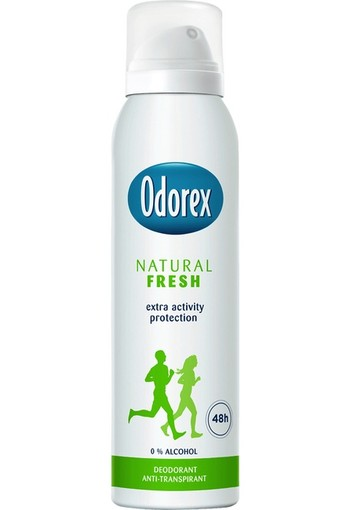 Odorex Natural Fresh Deodorant Spray 150 ml