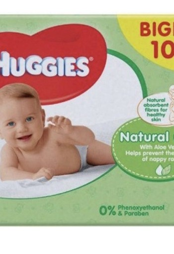 Huggies Wipes Natural Care 10 X 56 Stuks 10st