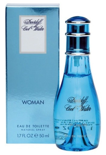 Davidoff Coolwater Woman Eau De Toilette Natural Spray 50ml