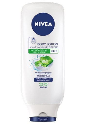 NIVEA ALOE HYDRATERENDE ONDER DE DOUCHE BODY LOTION 400ml