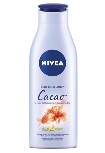 NIVEA CACAO & MACADAMIA BODY OLIE IN LOTION 200 ML