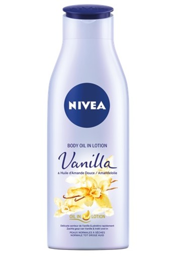 NIVEA VANILLE & AMANDEL BODY OLIE IN LOTION