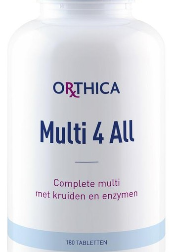 Orthica Multi 4 all (180 tabletten)