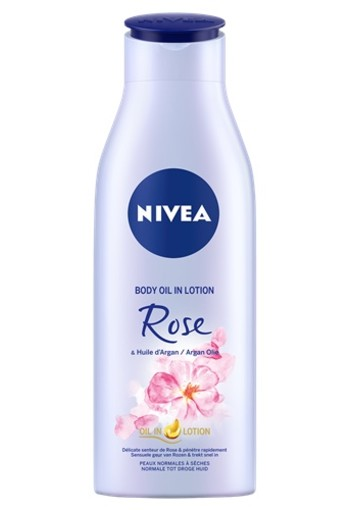 NIVEA ROOS & ARGAN BODY OLIE IN LOTION 200 ML