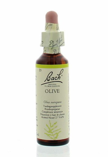 Bach Olive / olijf (20 ml)