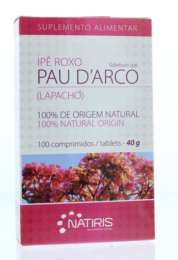Natiris Lapacho pau d arco (100 tabletten)