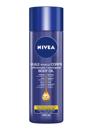 NIVEA Q10PLUS VERSTEVIGENDE BODY OLIE 200 ML