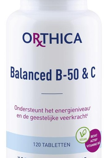 Orthica Balanced B50 & C (120 tabletten)