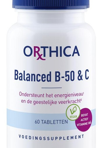 Orthica Balanced B50 & C (60 tabletten)