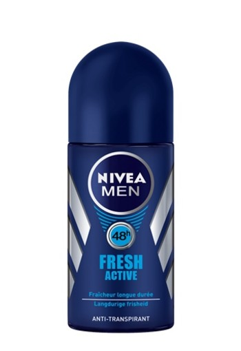 NIVEA FRESH ACTIVE ANTI-TRANSPIRANT ROLL-ON