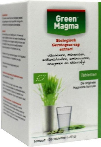 Green Magma Green magma (136 tabletten)