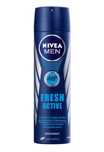 NIVEA FRESH ACTIVE DEODORANT SPRAY Deodorant 150 ml