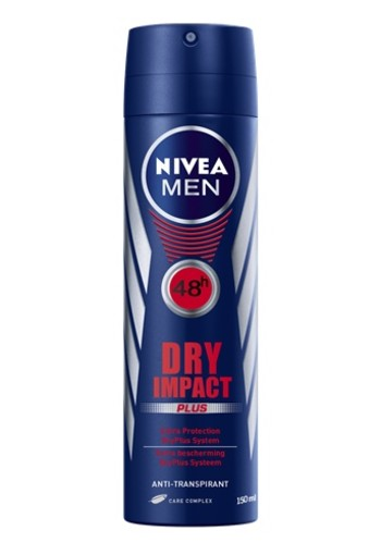 NIVEA DRY IMPACT ANTI-TRANSPIRANT SPRAY 150 ml