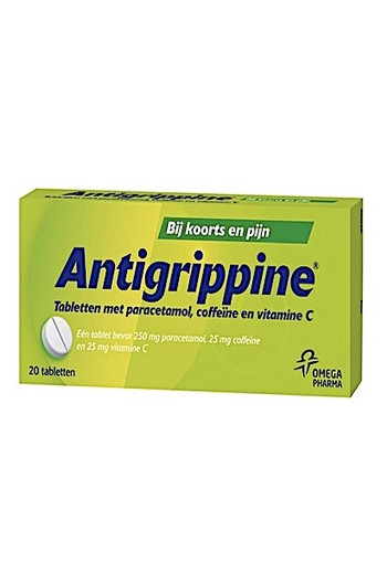 Antigrippine 250mg Paracetamol 20tb