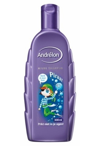 Andrelon Shampoo Kids Piraat 300ml