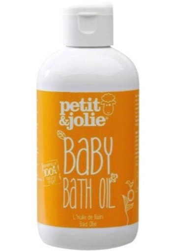 Petit & Jolie Baby Bath Oil 200ml
