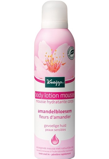 Kneipp Body lotion-mousse Amandelbloesem