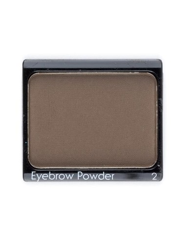 John Van G Eyebrow powder 2 dark brown (1 stuks)