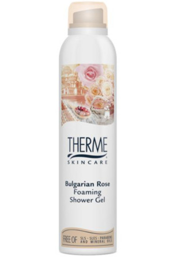 Therme Foam Shower Bulgarian Rose 200ml