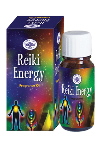 Green Tree Geurolie Reiki energy (10 ml)