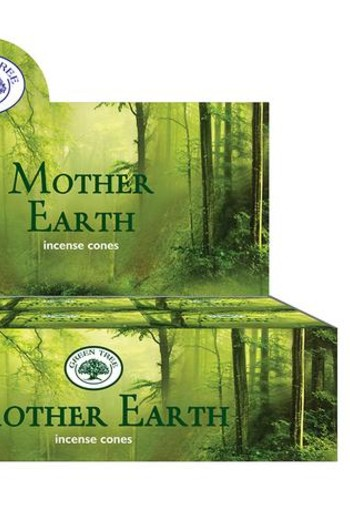 Green Tree Kegelwierook mother earth (10 stuks)