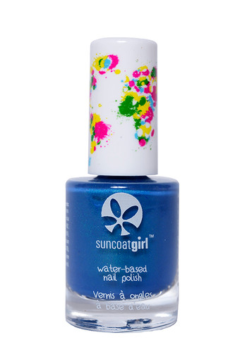 Suncoat Girl Nagellak mermaid blue non toxic (9 ml)