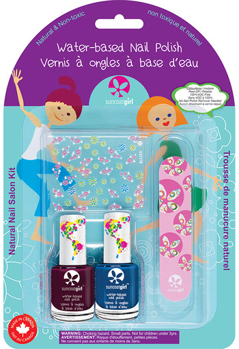 Suncoat Girl Nagellak little mermaid non toxic (1 set)