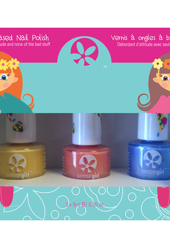 Suncoat Girl Nagellak egg-spiration non toxic (1 set)