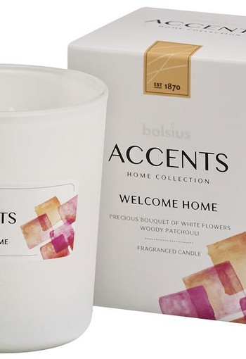 Bolsius Accents geurkaars welcome home (1 stuks)