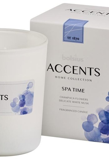 Bolsius Accents geurkaars spa time (1 stuks)