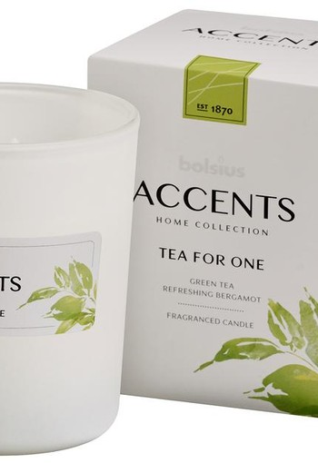 Bolsius Accents geurkaars tea for one (1 stuks)